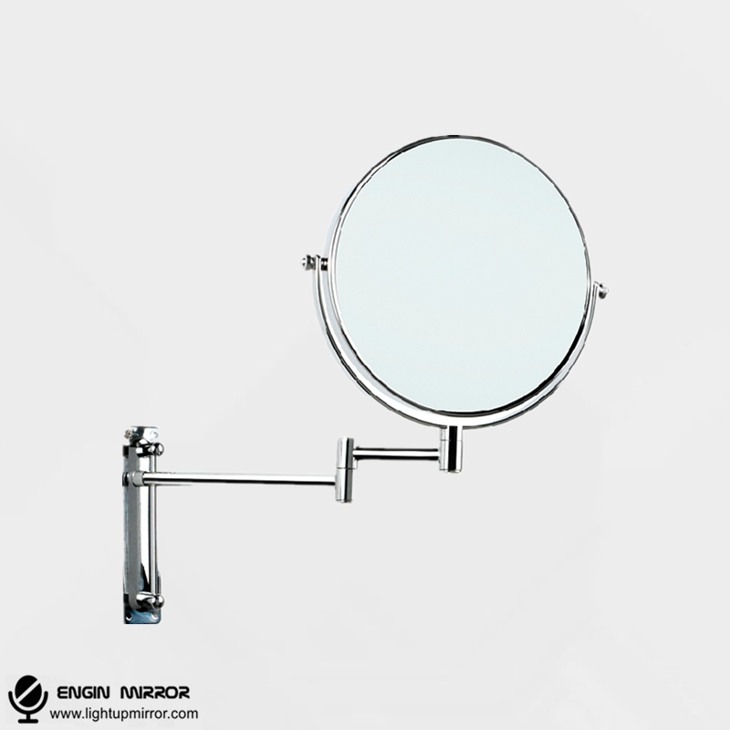 Wall Mounted Disco Lights : 8 Inches Wall Mounted Mirror - light up mirror
