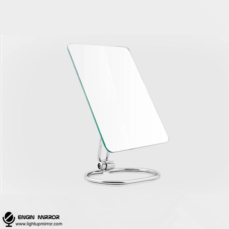 Folding & Wall Mounted Cosmetic Mirror - light up mirror